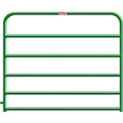 """Behlen Country 20 Gauge Utility Gate 68"""" Usable Length, 72""""L x 1-5/8""""W x 50""""H, Green"""