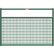 """Behlen Country Wire-Filled 20 Gauge Steel Gate 68"""" Usable Length, 72""""L x 1-5/8W"""" x 50""""H, Green"""