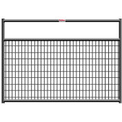 """Behlen Country Wire-Filled 20 Gauge Steel Gate 68"""" Usable Length, 72""""L x 1-5/8""""W x 50""""H, Gray"""