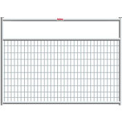 "Behlen Country Wire-Filled 20 Gauge Steel Gate 32"" Usable Length, 36""L x 1-5/8""W x 50""H, Galvanized"