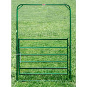 """Behlen Country Utility Arch Gate 68"""" Usable Length, 72""""L x 1-5/8""""W x 108""""H, Green"""