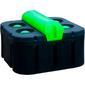 """Behlen Country Energy-Free Super 4-Hole Cattle Waterer W/ Urethane Insulation 44""""L x 44""""W x 28""""H"""