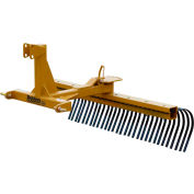 Behlen Country 6' Medium Duty Landscape Rake Tractor Attachment 80110630 Category 1