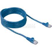 Belkin® Ethernet Patch Cable, A3L85014BLS, RJ45 Fast CAT Cable, 14' Long, Blue