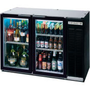 "Glass Door Back Bar Refrigerator BB-G Series, 48""W - BB48G"