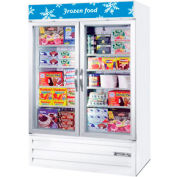 "Two Door Glass Door Merchandiser Freezer, 52""W MMF49-1-W FREEZER by"