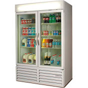 "Beverage Air Two Door Glass Door Merchandiser Refrigerator, 52""W - MMR49-1-B"