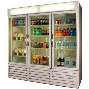 Beverage Air Merchandiser Refrigerator - Three Glass Doors