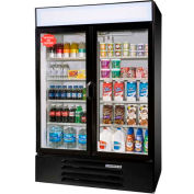 "Hinged Glass Door Lumavue Merchandiser Series, 52""W - LV49"