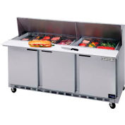 "Food Prep Tables SPE72 Elite Series Mega Top, 72""W - SPE72HC-18M"
