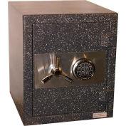 "Wilson Safe Burglary & Fire Safe - 17-1/2""W x 21-3/4""D x 20-1/2""H, Digital Lock, Gray"