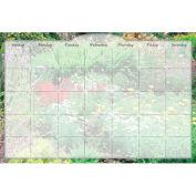 Biggies Dry Erase Calendar -Flower Garden