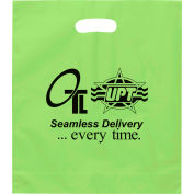 Personalized Bag-Rose Plastic, 15W X 18H X 4, Flexo Ink Imprint