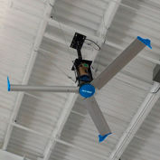 Blue Giant BGF3-0618-346-3 Falcon III HVLS Fan, 6 Ft. Dia., 1 HP, 460V, 3PH, w/Mounting Equipment