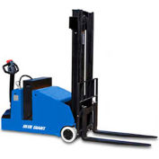 "Blue Giant® Fully Powered Counter Balanced Stacker BGL22-157 2200 Lb. Cap. 157"" Lift"