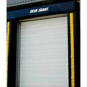 """Blue Giant® Fixed Head Pad Seal DS-D100V-40-20-C 8' x 9' with 20"""" Projection & 12"""" Curtain"""