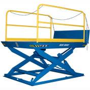 "Blue Giant® Elevating Dock ED5-7296 5000 Lb. Capacity 72"" x 96"" Platform"