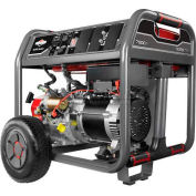 Briggs & Stratton, CARB Approved Portable Generator 030552, Recoil Start, 7500W