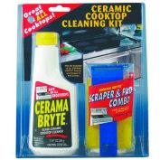 Blue Ribbon Prod. 27068 Cerama Bryte Ceramic Cooktop Cleaning Kit