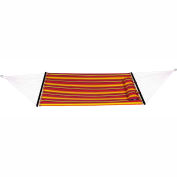 "Bliss 55"" Double Layer Polyester Outdoor Hammock with Pillow, Multi"