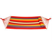 Bliss Oversized Outdoor Hammock with Pillow, Tequila Sunrise