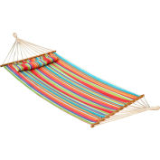 Bliss Oversized Outdoor Hammock with Pillow, Tropical Fruit