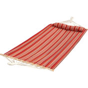 Bliss Oversized Outdoor Hammock with Pillow, Toasted Almond