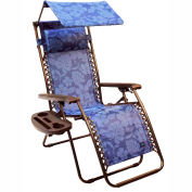 Bliss Gravity Free Recliner Chair w/ Sun-Shade & Cup Tray