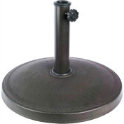 Bliss Umbrella Base, Classic Resin, Dark Bronze
