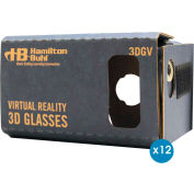 HamiltonBuhl 3D Virtual Reality DIY Cardboard Goggles for Smartphones - 12 Pack