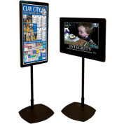 "42"" Digital Signage Stand Promoter System, All-in-One"
