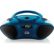 Boom Box with Bluetooth Receiver, CD/FM Media Player