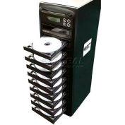 Buhl 1 Reader to 9 Writer DVD/CD Duplicator