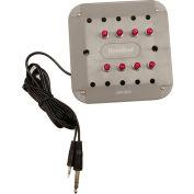 Jackbox, 8 Position, Stereo, Individual Vol Controls