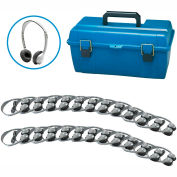 Lab Pack, 24 MS2L Personal Headphones w/ Carrying Case