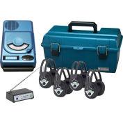 4 Station Wireless CD, USB, MP3 Listening Center
