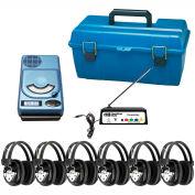 6 Station Wireless CD, USB, MP3 Listening Center