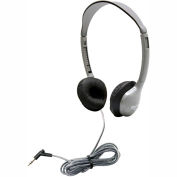 Schoolmate Personal Mono/Stereo Headphone w/ Leatherette Ear Pads