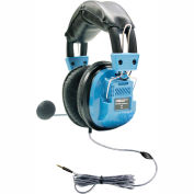 Deluxe Headset with Goose Neck Microphone and TRRS Plug