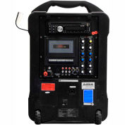 Venu100 Wireless PA System - CD, DVD, Cassette, MP3, Rechargeable