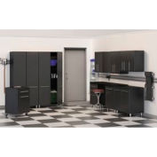 Ulti-MATE Garage 10-Piece Kit - Cabinets & Worktop Bench Surface
