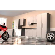 Ulti-MATE Garage PRO 10-Piece Super System - Cabinets & Workshop Bench Surface