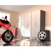 Ulti-MATE Garage PRO 3-Piece Tall Cabinet Kit
