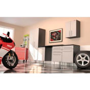 Ulti-MATE Garage PRO 6-Piece Deluxe Cabinet Kit