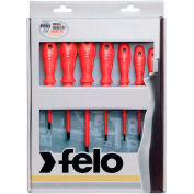 Felo® 07157 51401 7 Pc Phillips & Slotted Insulated Screwdriver Set
