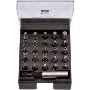 """Felo® 07157 51565 25 Security Tip Bits x 1"""" + Magnetholder"""