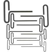 """Bondhus 15438 Loop T-Handle Inch Hex Key Set, 3/32""""-3/8"""", 10 Pieces"""