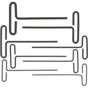 Bondhus 15587 Loop T-Handle Metric Hex Key Set, 2.0-10mm, 8 Pieces