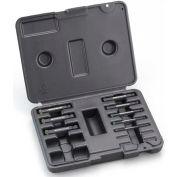 Bondhus 23296, Set of 9 ProHold Hex Bits, 5-19mm Tip Sz, ProGuard™