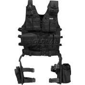 """Barska Loaded Gear VX-100 Tactical Vest and Leg Platform, 22""""L x 38-50""""W"""